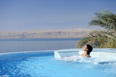 Relaks nad Morzem Martwym